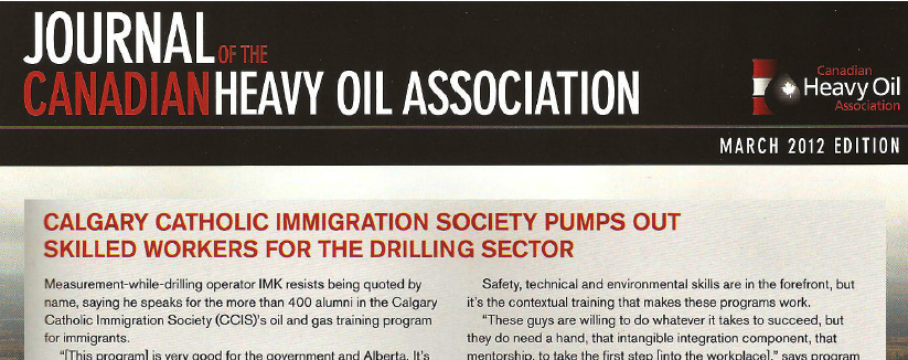CCIS pumps out skilled workers for the drilling sector